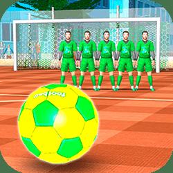 بازی آنلاین فوتبال ضربه آزاد
