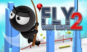 بازی پرواز با طناب