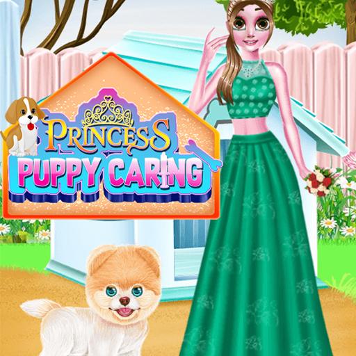بازی دخترانه آنلاین مراقبت از توله سگ شاهزاده خانم