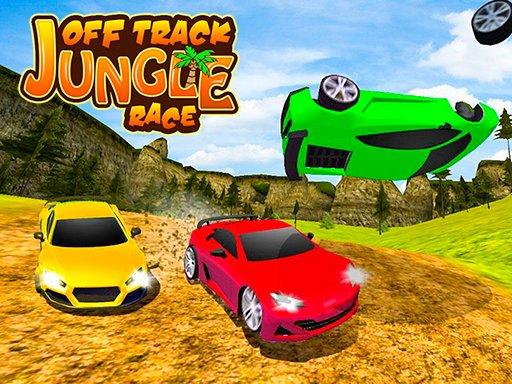 بازی مسابقات ماشینی Off Track Jungle Race
