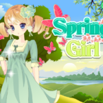 تیپ بهاری دختر زیبا