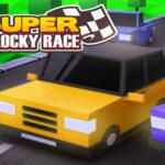 بازی آنلاین مسابقات Super Blocky Race