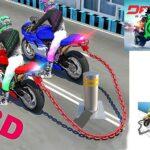 بازی مسابقات موتور سواری سه بعدی