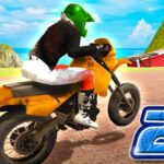 بازی آنلاین موتورسواری City Bike Stunt