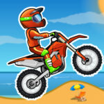 بازی آنلاین موتور سواری Moto XM Bike Race Game