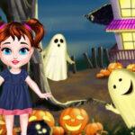 بازی دخترانه آنلاین Baby Taylor Halloween House