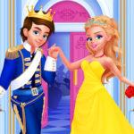 بازی دخترانه عروسی سیندرلا