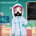 بازی دخترانه انلاین دکتر پرنسس و کرونا
