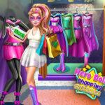 بازی آنلاین دخترانه خرید لباس برای دختر قهرمان