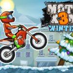 بازی آنلاین موتورسواری در زمستان