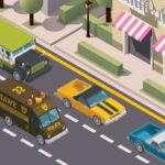 بازی آنلاین ماشینی Miami Traffic Racer