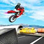بازی موتورسواری Highway Traffic Bike Stunts